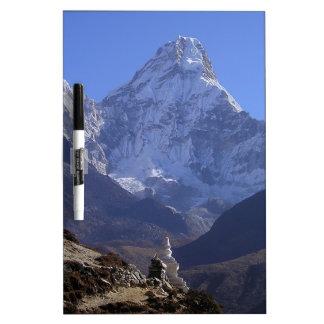 Le mont Everest 4 Tableau Blanc Effaçable À Sec