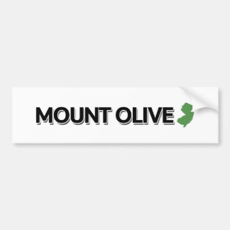 Le Mont Olive, New Jersey Autocollant De Voiture