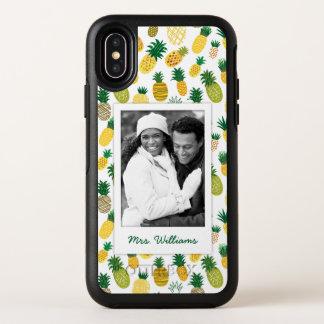 Le motif à la mode | d'ananas ajoutent votre photo