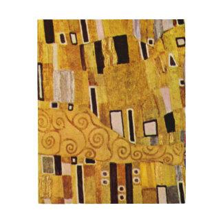 Le motif de baiser par Gustav Klimt, art Nouveau