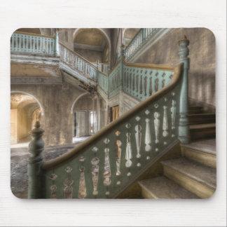 Le Mousepad tire Place villa escalier Abandoned Tapis De Souris