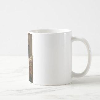 Le napoléon d'empereur dans son étude chez le mug