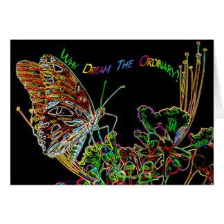 Le néon extraordinaire rêve Nov06 Carte De Correspondance