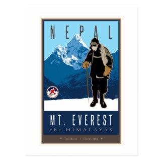 Le Népal Carte Postale