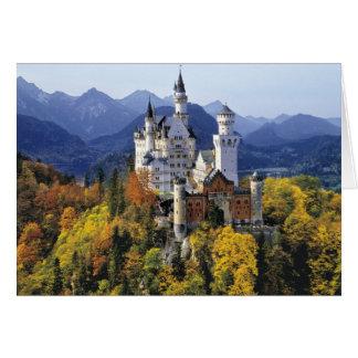 Le Neuschwanstein de fantaisie est l'un de trois Carte