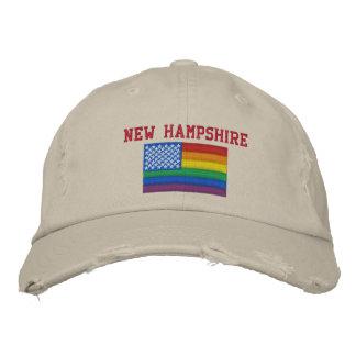 Le New Hampshire célèbre la casquette de baseball