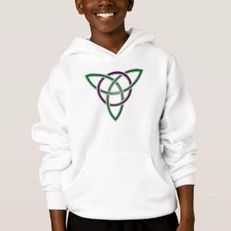 Le noeud vert de trinité badine le sweat - shirt à