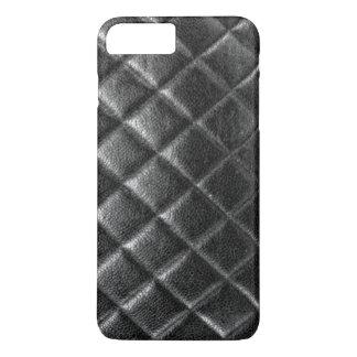 Le noir a piqué le caviar piqué de cc de sac en coque iPhone 8 plus/7 plus