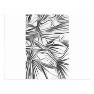 Le noir blanc imprime Black White imprime la Carte Postale