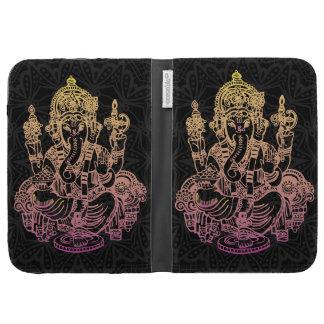 Le noir de Ganesh d'Indien allument la caisse de C