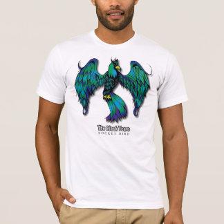 Le noir déchire l'oiseau T de Rocket des hommes T-shirt
