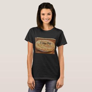 Le noir des femmes j'aime le T-shirt de tarte