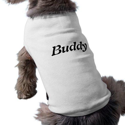 Le nom T du chien d'ami+chemise Vêtements Pour Chien