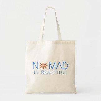 Le nomade est beau sac en toile budget