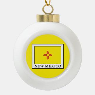 Le Nouveau Mexique Boule En Céramique