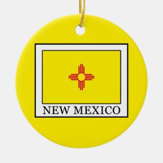 Le Nouveau Mexique Ornement Rond En Céramique