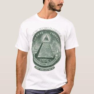 Le nouvel ordre mondial Annuit Coeptis T-shirt