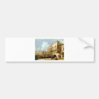 Le Palais des Doges, Venise Richard Parkes Autocollant De Voiture