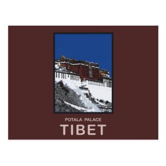 Le Palais du Potala Lhasa Thibet Carte Postale