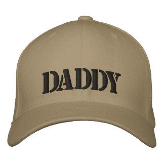 Le PAPA a brodé le casquette fait une pointe Casquette De Baseball
