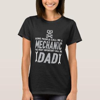 Le papa est T-shirt de mécanicien