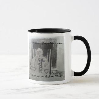 Le pape Mug par Ishah Laurah Guillen Wright