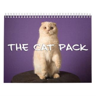 Le paquet de chat calendriers muraux