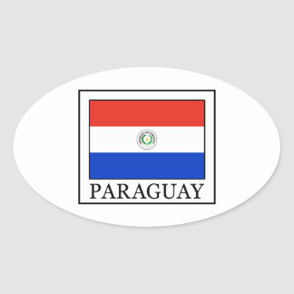 Le Paraguay Sticker Ovale