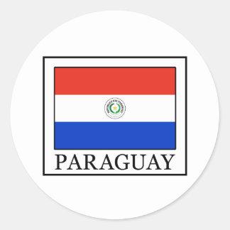 Le Paraguay Sticker Rond