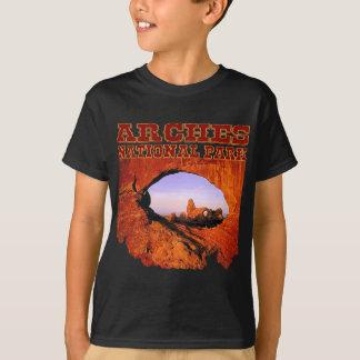 Le parc national de voûtes badine le T-shirt