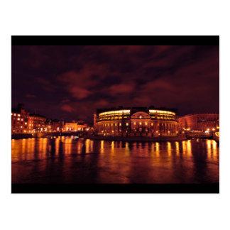 Le Parlement logent à Stockholm, Suède Carte Postale