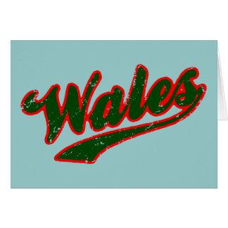 Le Pays de Galles Carte