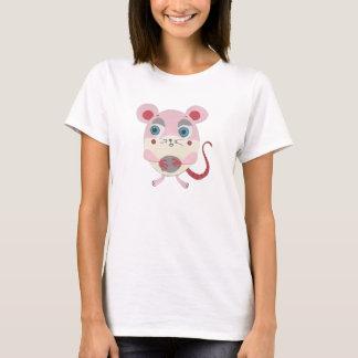 Le peu de T-shirt nano de souris de Hanes d'étoile