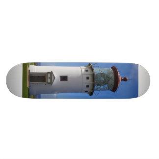 Le phare de Kauai sur une planche à roulettes Plateaux De Skateboards