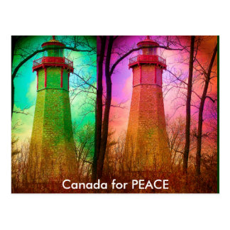 Le phare le plus ancien à Toronto Carte Postale