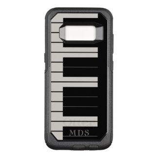 Le piano en ivoire d'OtterBox de bois d'ébène de Coque Samsung Galaxy S8 Par OtterBox Commuter