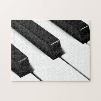 Noir et blanc puzzles puzzles casse t tes noir et blanc - Bar piano blanc et noir ...