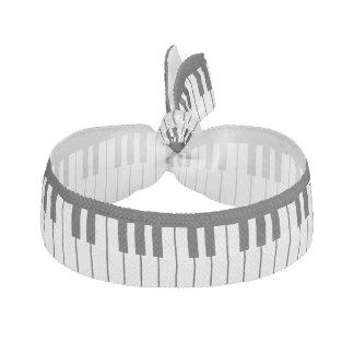 Le piano verrouille le bracelet d'élastique à élastique pour cheveux