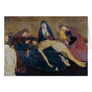 Le Pieta d'Avignon, 1450-60 Carte