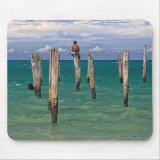 Le pilier en plage de Coqueiros dans Trancoso Tapis De Souris