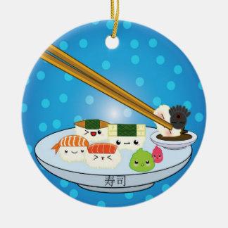 Le plateau DBL de sushi a dégrossi ornement