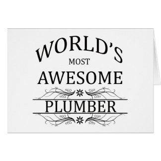 Le plombier le plus impressionnant du monde carte