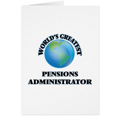 Le plus grand administrateur des pensions du monde carte