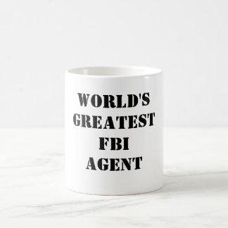 Le plus grand agent du FBI du monde Mug