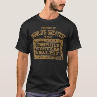 Le plus grand analyste fonctionnel de système t-shirt