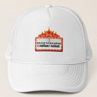 Le plus grand assistant de la conformité du monde casquette