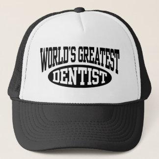 Le plus grand casquette du dentiste du monde