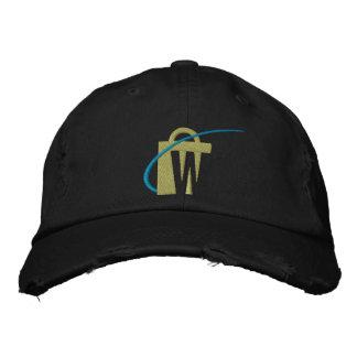 Le plus grand casquette noir brodé de Chino des Casquette De Baseball