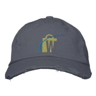 Le plus grand chapeau brodé de Chino de marine des