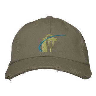 Le plus grand chapeau olive brodé de Chino des mon Casquettes De Baseball Brodées
